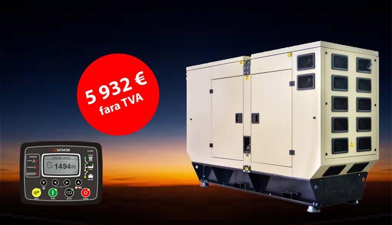 Grup electrogen 70 kVA cu carcasa si AAR/ATS