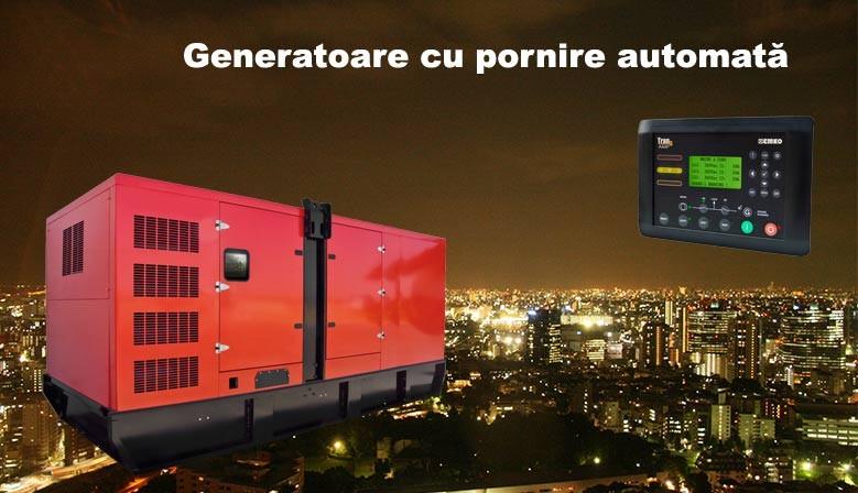 Generatoare electrice cu automatizare